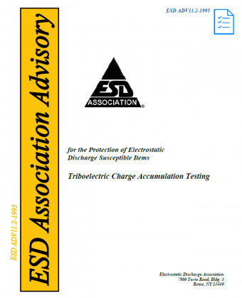 ESD ADV11.2-1995 Triboelectric Charge Accumulation Testing