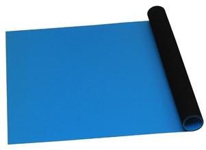 "66095 - Statfree T2™ Dissipative Dual Layer Rubber Roll, Blue, .060"" x 48"" x 40'"