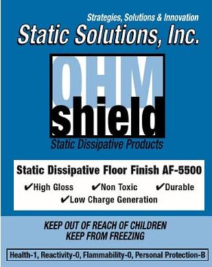 Ohm-Shield™ – Elite Dissipative Floor Finish