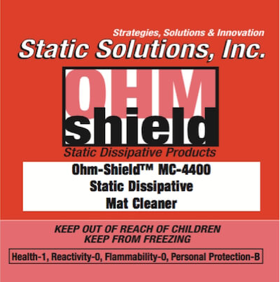 Ohm-Shield™ Dissipative Mat Cleaner