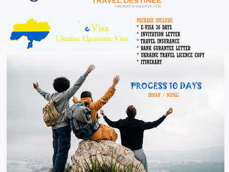 UKRAINE EVISA INCLUDE INVITATION LETTER