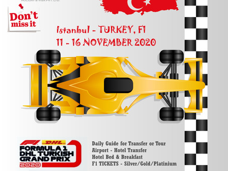 TURKEY F1 RACE PACKAGE