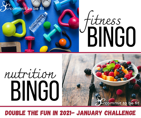 Double the Fun in 2021- January Challeng