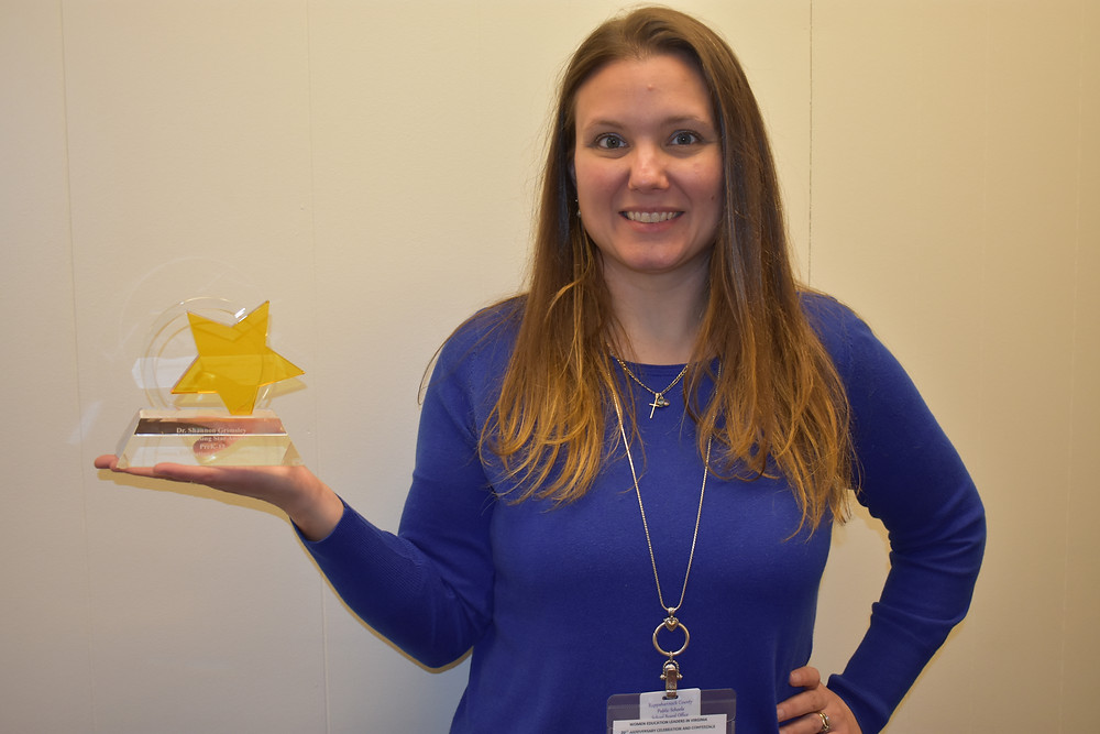 Dr. Grimsley Receives WELV's Rising Star Award