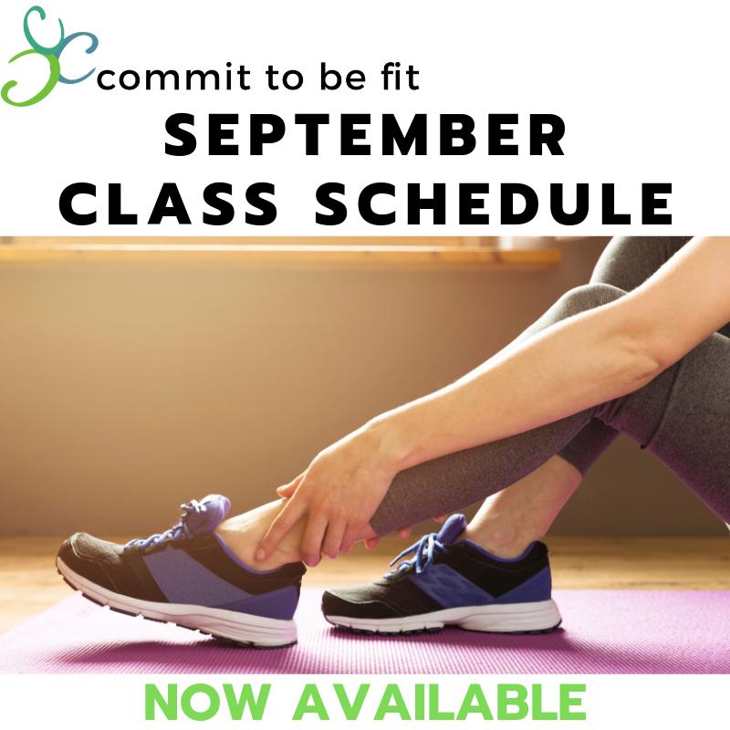 September Class Schedule