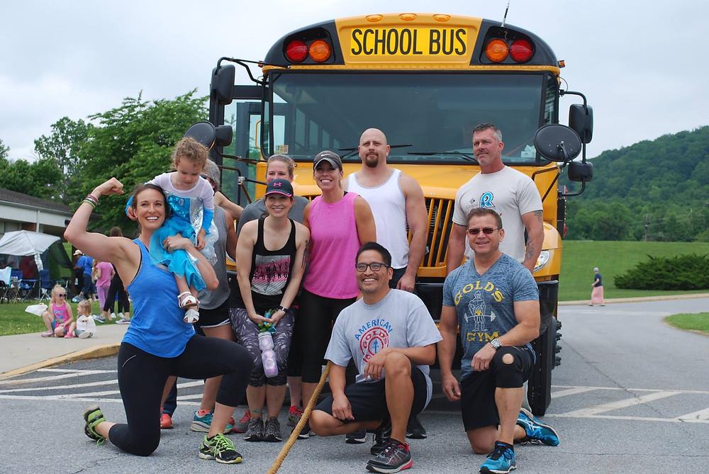 2017 Bus Pull Champions