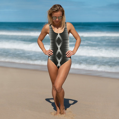 Aztec One-Piece Swimsuit