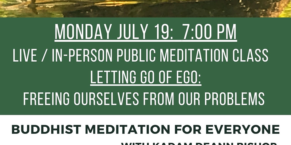 July 19, Letting Go of Ego