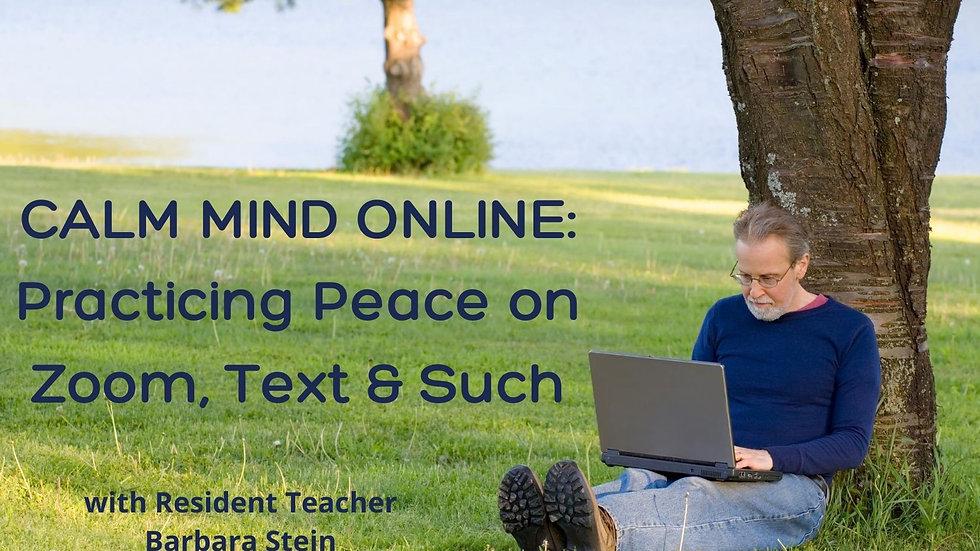 Aug 23 Calm Mind Online
