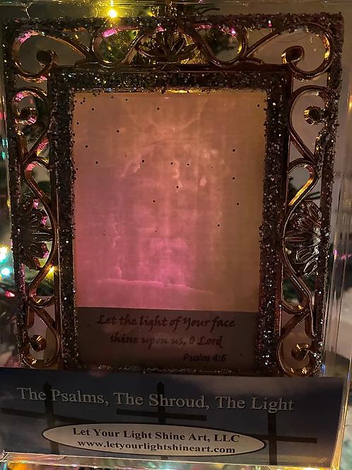 Ornament /Suncatcher- Gold Frame