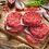 """Thumbnail: 40 1/2"""" Thick Hamburger Patties (20 lbs.)"""