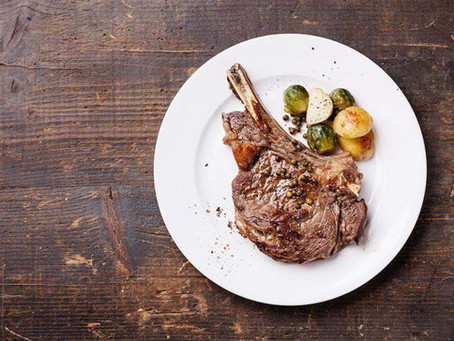 Grassfed Pan-Seared Ribeye Steak