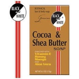 Black & white Cocoa & Shea butter 6.1 oz