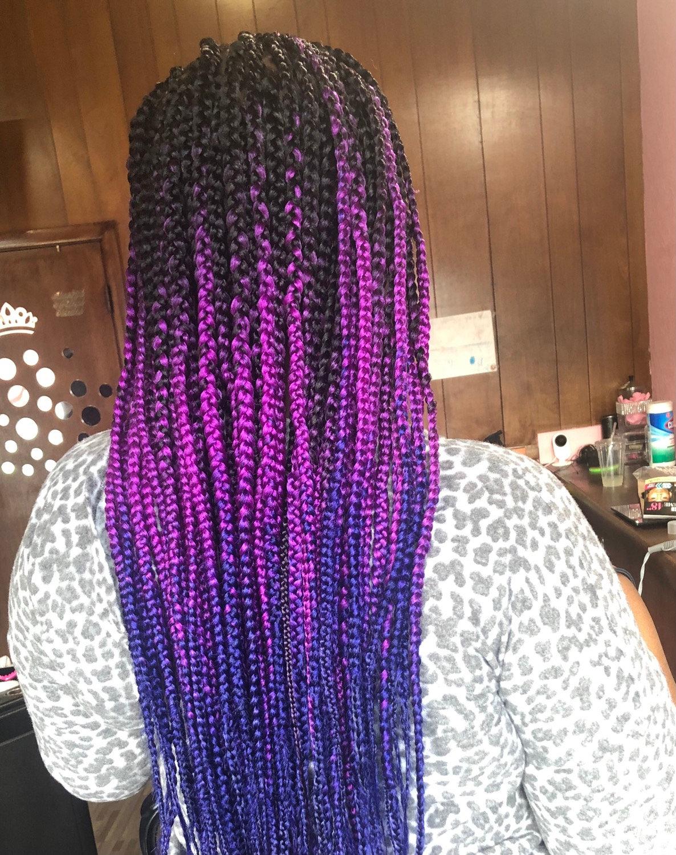 Box braids +
