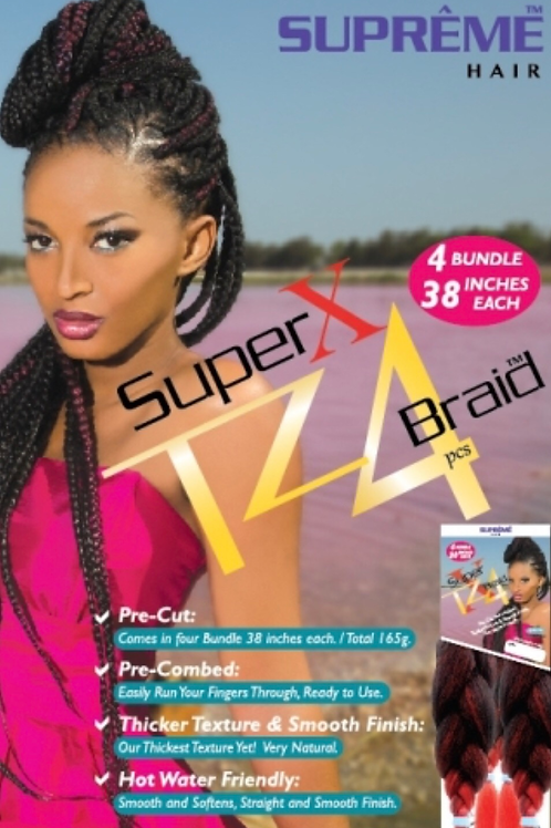 Super X TZ4 Braid (4 Bundles/Pack) Prestretched