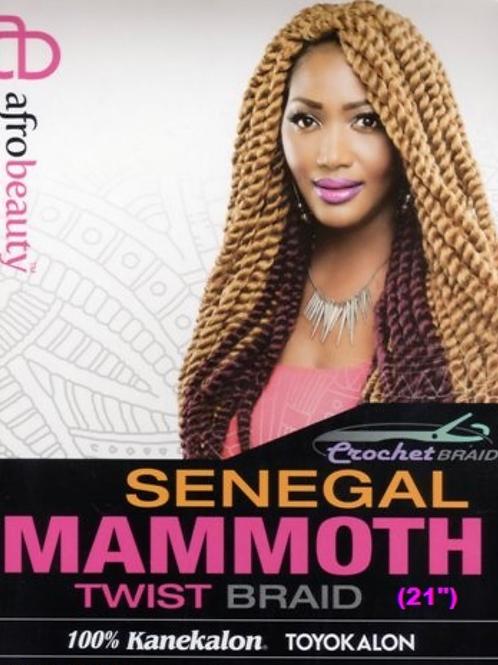 """Mammoth (Mambo) Twist (22"""")"""