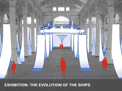EXHIBITION THE EVOLUTION OF THE SHIPS.jp