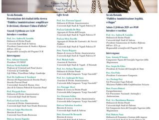 Relatore alla Giornata di Formazione per Dipendenti Pubblici in Pubblica Amministrazione e Anticorru