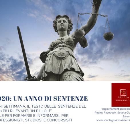 SULLA PRECLUSIONE DA GIUDICATO IMPLICITO IN DISTINTE DOMANDE (Cons. St. n. 7437/2020)