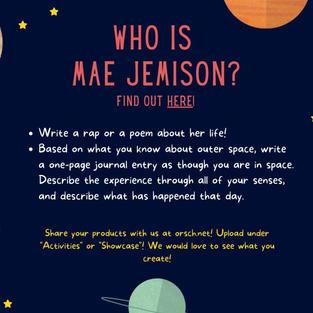 Who is Mae Jemison?