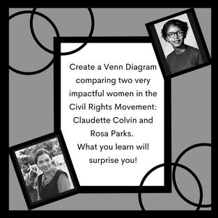 Claudette and Rosa Parks