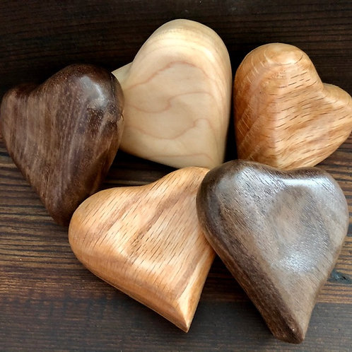 Wooden Worry Heart