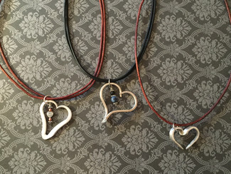 Fork tine hearts
