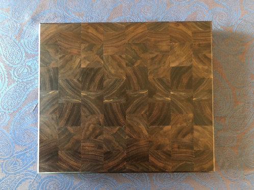 End Grain Black Walnut Cutting Board