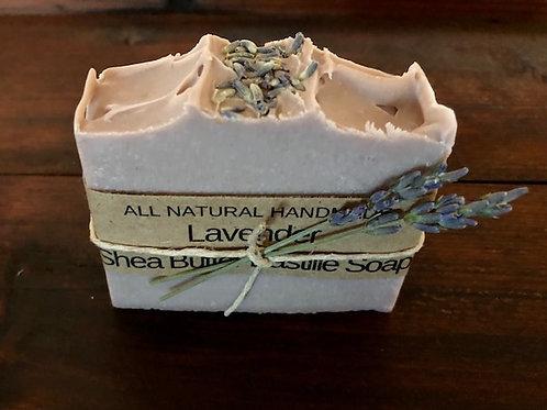 Lavender Shea Butter Bastille Soap