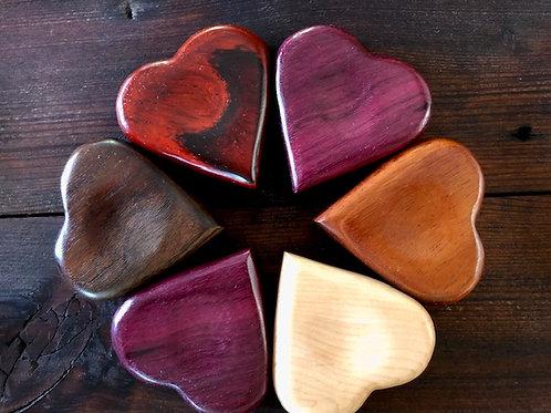 Wooden Worry Heart