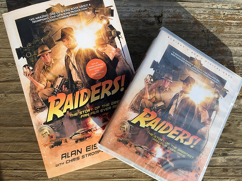 Raiders! Combo Pack - The Documentary on Blu-Ray/DVD + The Book in Paperback
