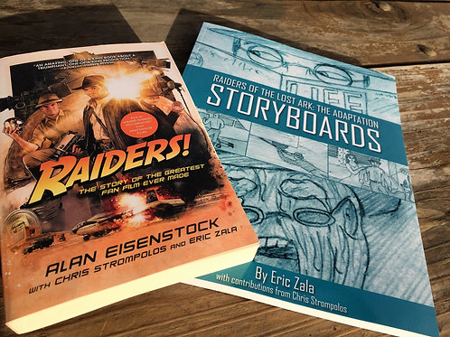Book Combo - The Book in Paperback + The Storyboard Book in Paperback