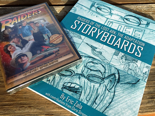 Adaptation Combo Pack - The Fan Film on DVD + The Storyboard Book in Paperback