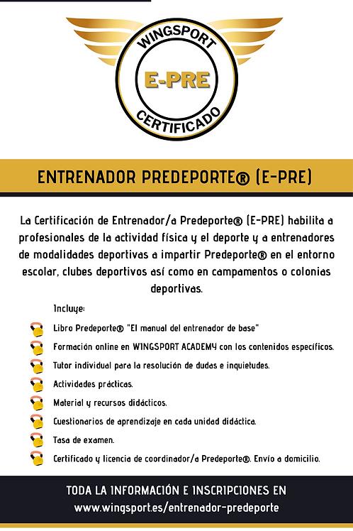 Libro PREDEPORTE® + Formación Entrenador/a Predeporte®