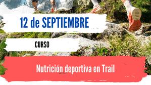 Nutrición deportiva en trail - Curso
