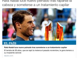 Rafa Nadal y el periodismo deportivo