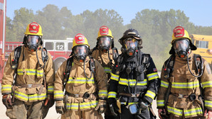 Entrenamiento de bombero