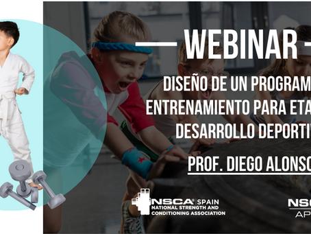 Webinar con NSCA-Spain