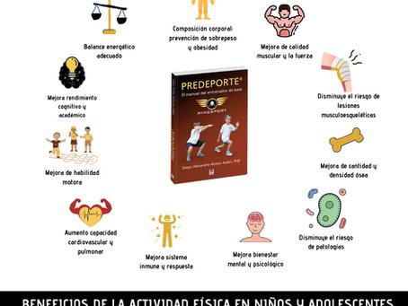BENEFICIOS DE LA ACTIVIDAD FÍSICA Y EL DEPORTE EN NIÑOS Y ADOLESCENTES