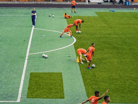 Entrenamiento en futbolistas de élite