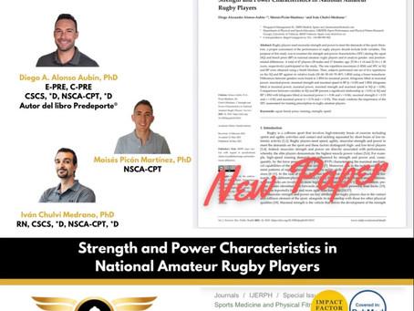 Artículo científico: Fuerza y potencia en jugadores de rugby amateur de nivel nacional