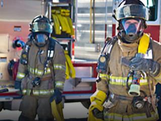 Entrenamiento oposición de bombero