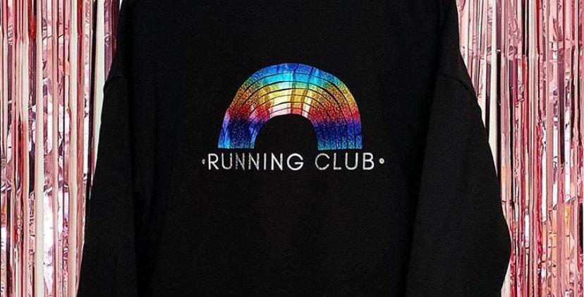 Rainbow Running Club Sweatshirt