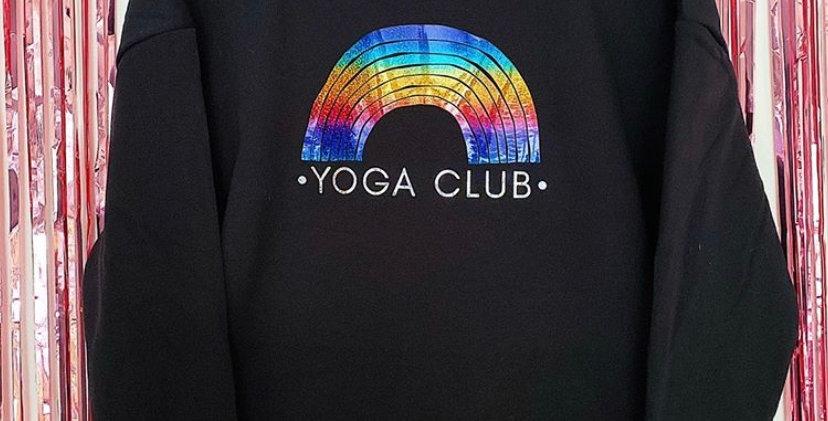 Rainbow Yoga Club Sweatshirt