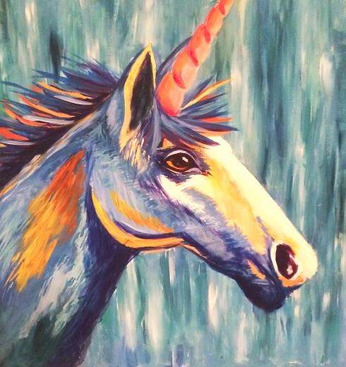 Sprinkle Creative Unicorn Painting