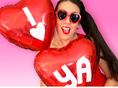DIY Balloon Heart Sayings for Valentine's Day!