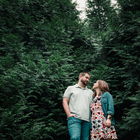 10 Year Wedding Anniversary Session - Mallory & Charlie
