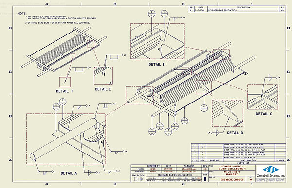 Sheet Metal Drawing