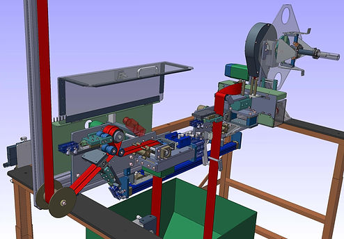 Pneumatic Machinery SolidWorks Autodesk Inventor CAD Desgin