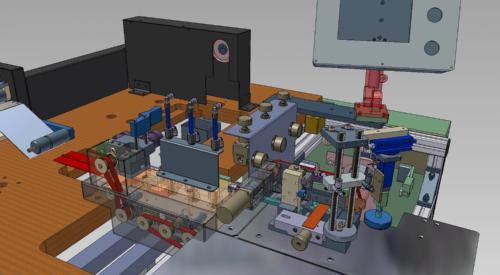 Pneumatic Machinery SolidWorks Autodesk Inventor CAD Desgin